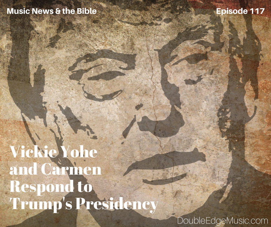 Episode 117: Vickie Yohe and Carmen Give trump the Thumbs Up